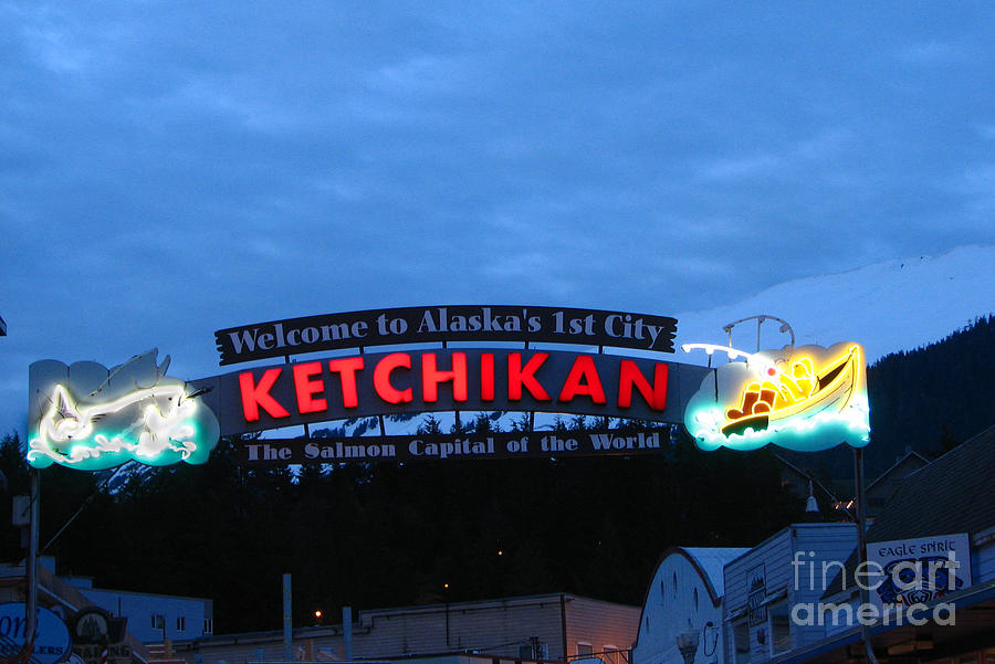 Ketchikan Photograph  - Ketchikan Fine Art Print
