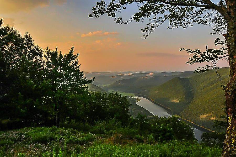 Kettle Creek Vista Photograph By Scott Hafer