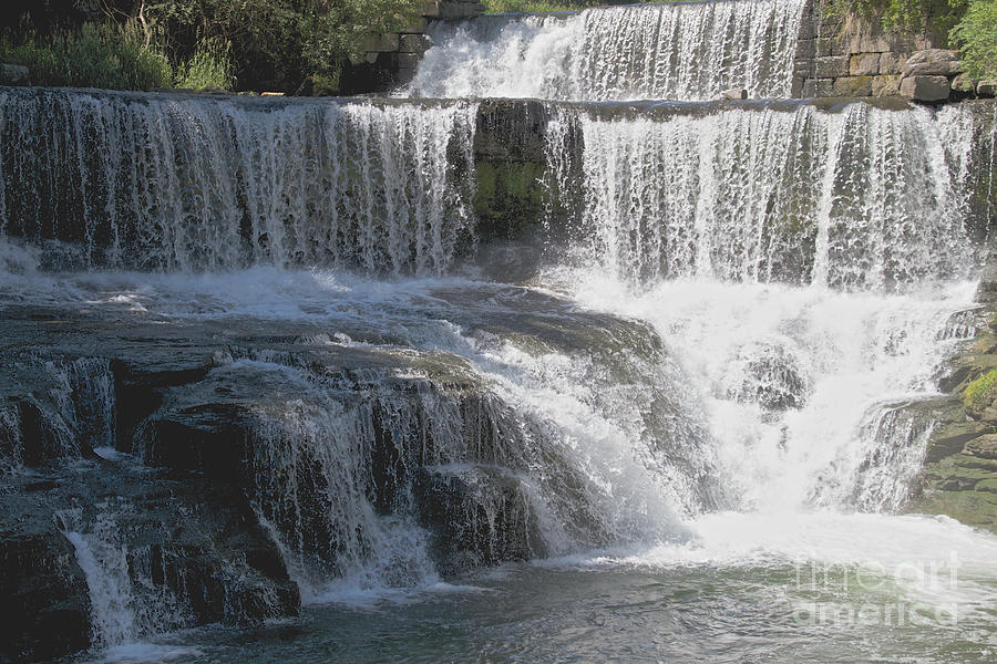 Keuka Seneca Waterfall Photograph