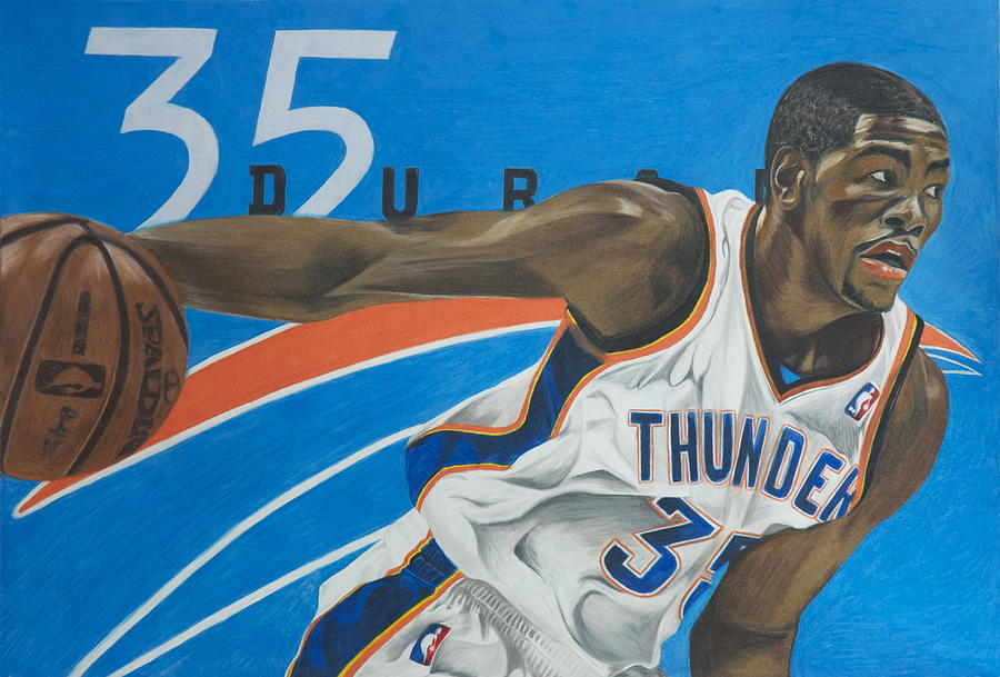 Kevin Durant Drawing