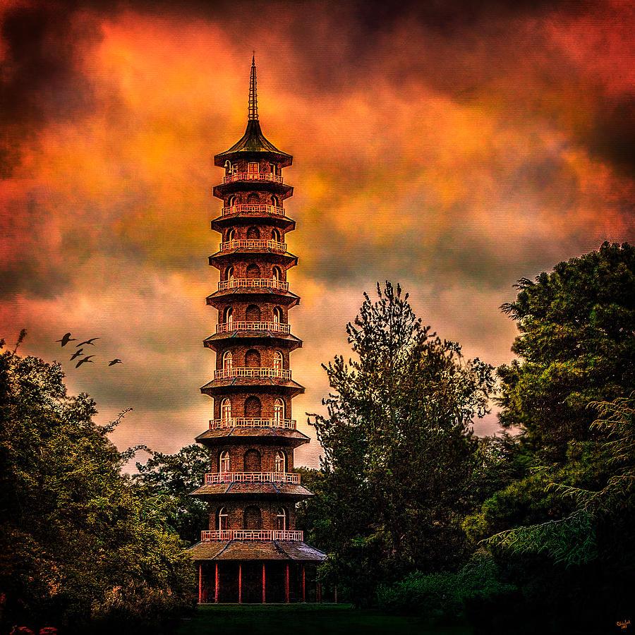 Kew Gardens Pagoda Photograph
