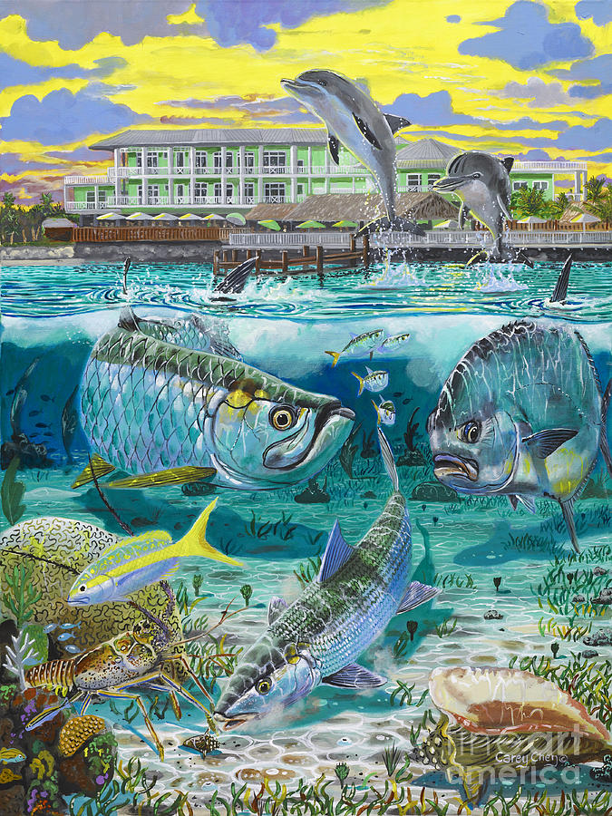 Key Largo Grand Slam Painting