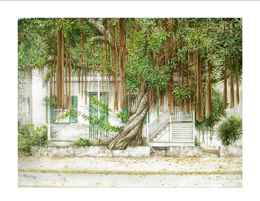 Banyan Tree Painting Banyan Tree Paintings - Key