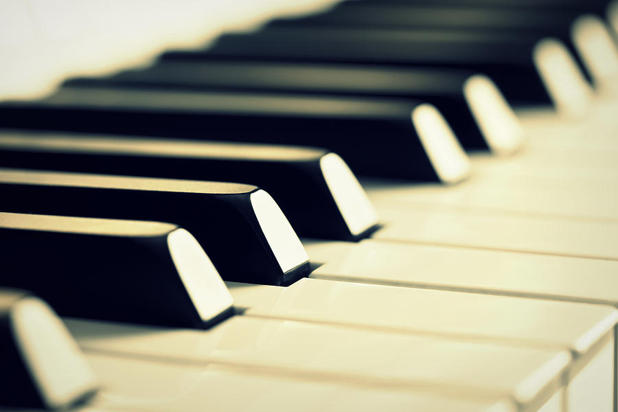 Keyboard Of A Piano Photograph  - Keyboard Of A Piano Fine Art Print