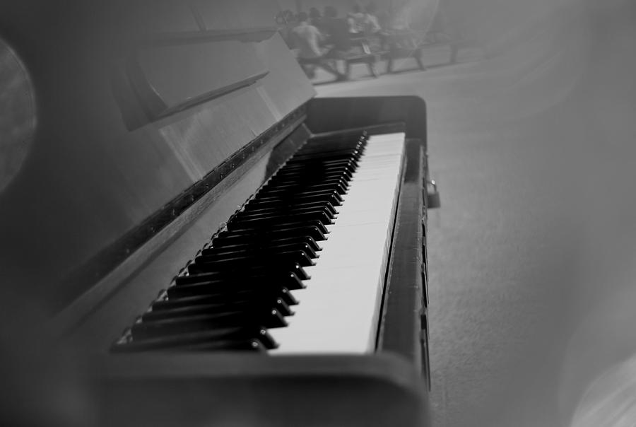 Piano Photograph - Keys 2 by Frederico Borges