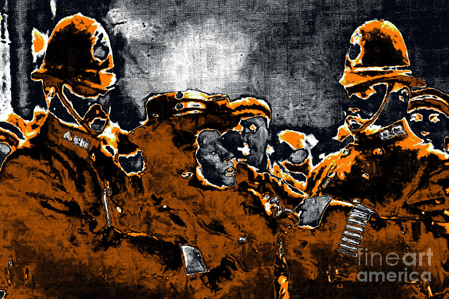 People Photograph - Keystone Cops - 20130208 by Wingsdomain Art and Photography