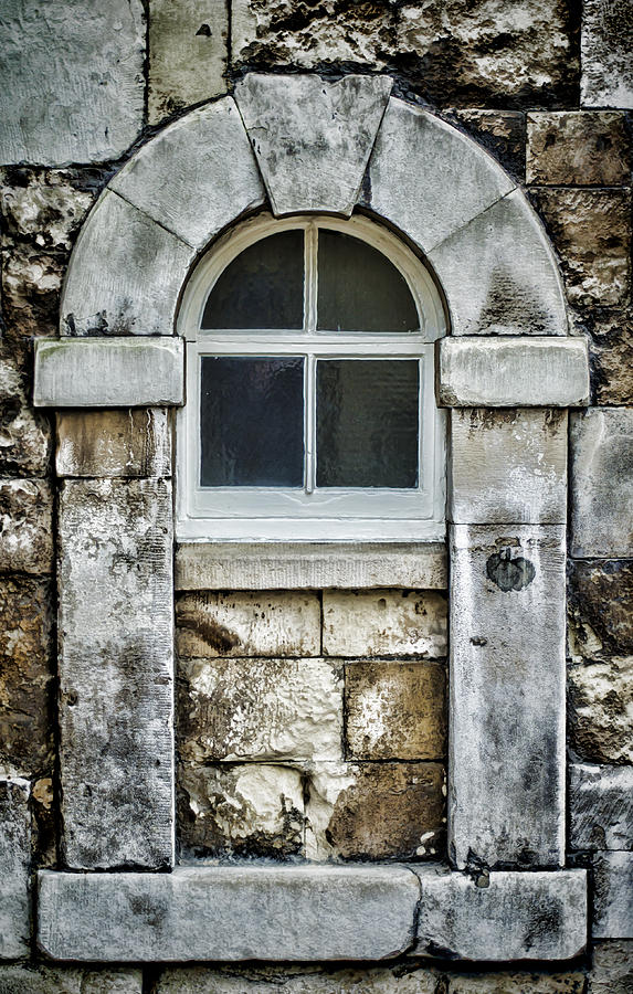 Keystone Window Photograph  - Keystone Window Fine Art Print