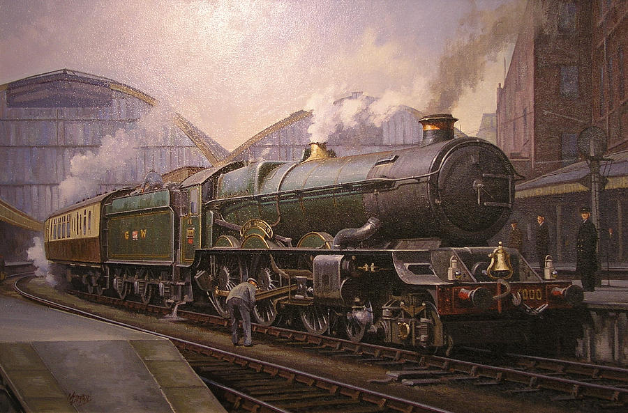 Kg5 At Paddington. Painting