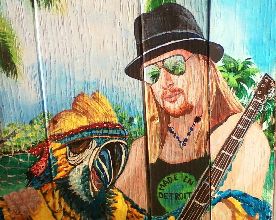 Kid Rock Painting