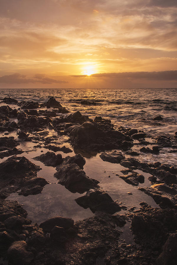 Kihei Sunset 1 - Maui Hawaii Photograph  - Kihei Sunset 1 - Maui Hawaii Fine Art Print