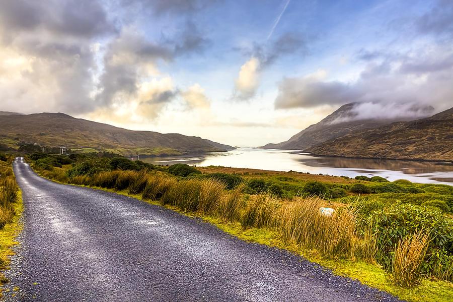 Killary Fjord In Irelands Connemara Photograph