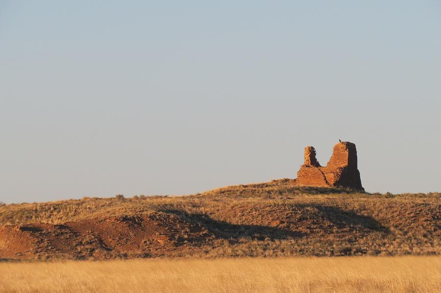 Chaco Photograph - Kin Klizhin Greets The Dawn by Feva  Fotos