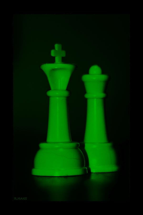 King And Queen In Green Photograph