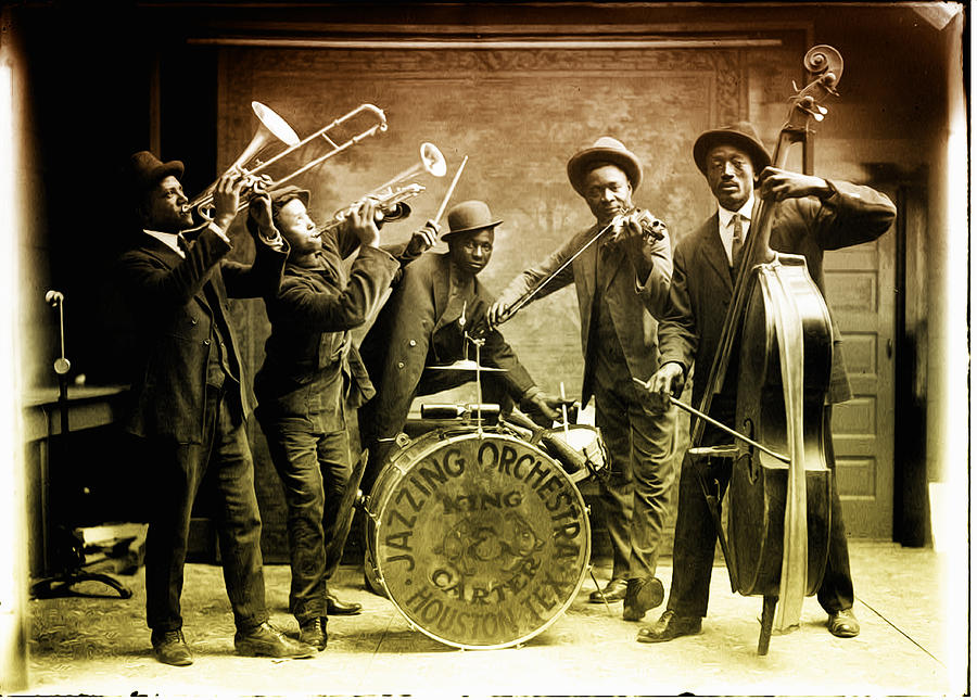 King Carter Jazzing Orchestra Photograph