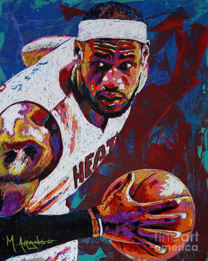 King James Painting  - King James Fine Art Print