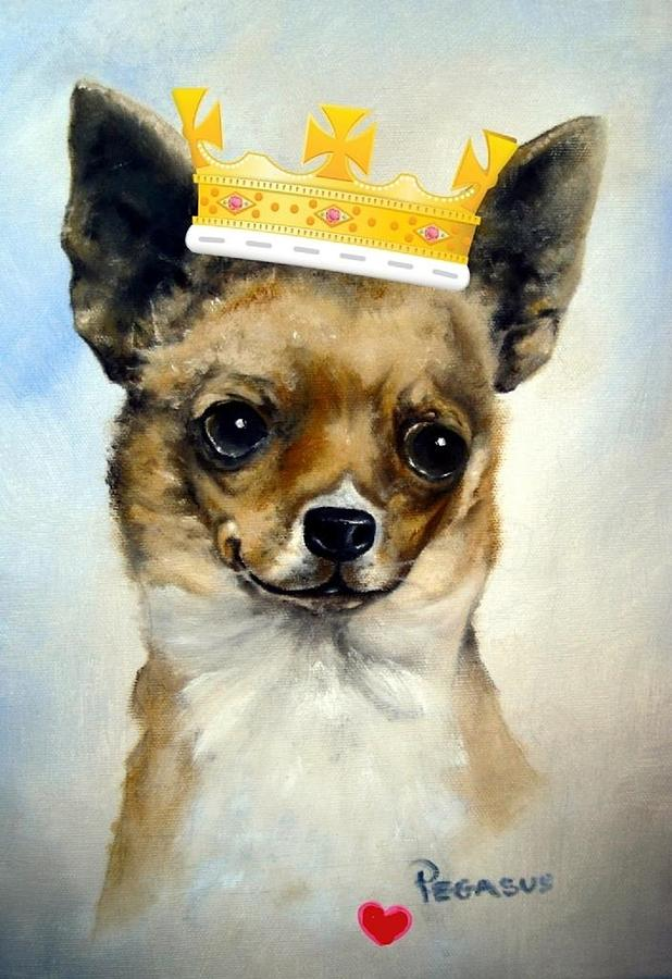 King Of Hearts Painting  - King Of Hearts Fine Art Print