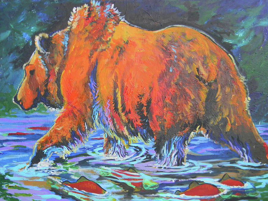 King Of The Fishes Painting  - King Of The Fishes Fine Art Print