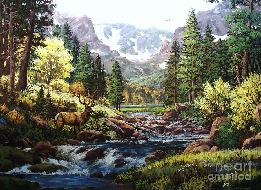 King Of The Valley Painting  - King Of The Valley Fine Art Print