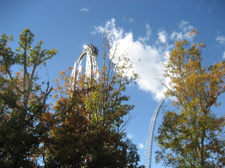 Kings Photograph - Kings Dominion - Hypersonic Xlc - 12121 by DC Photographer