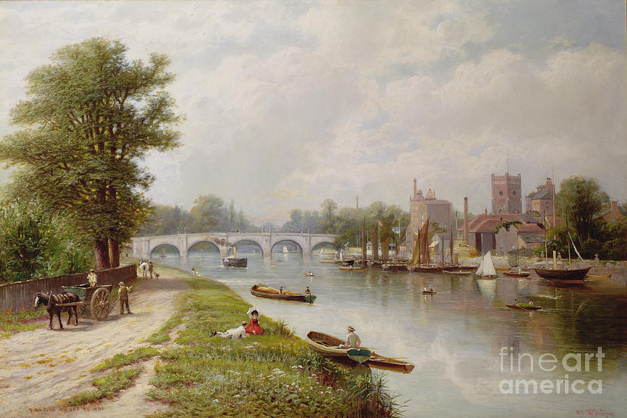 Kingston On Thames Painting