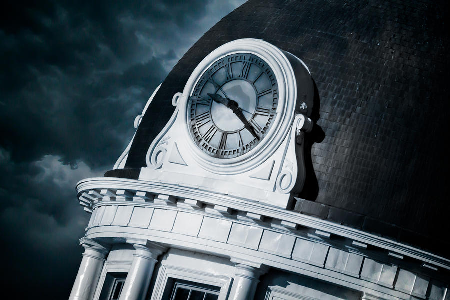 Kingstons Clock Photograph  - Kingstons Clock Fine Art Print
