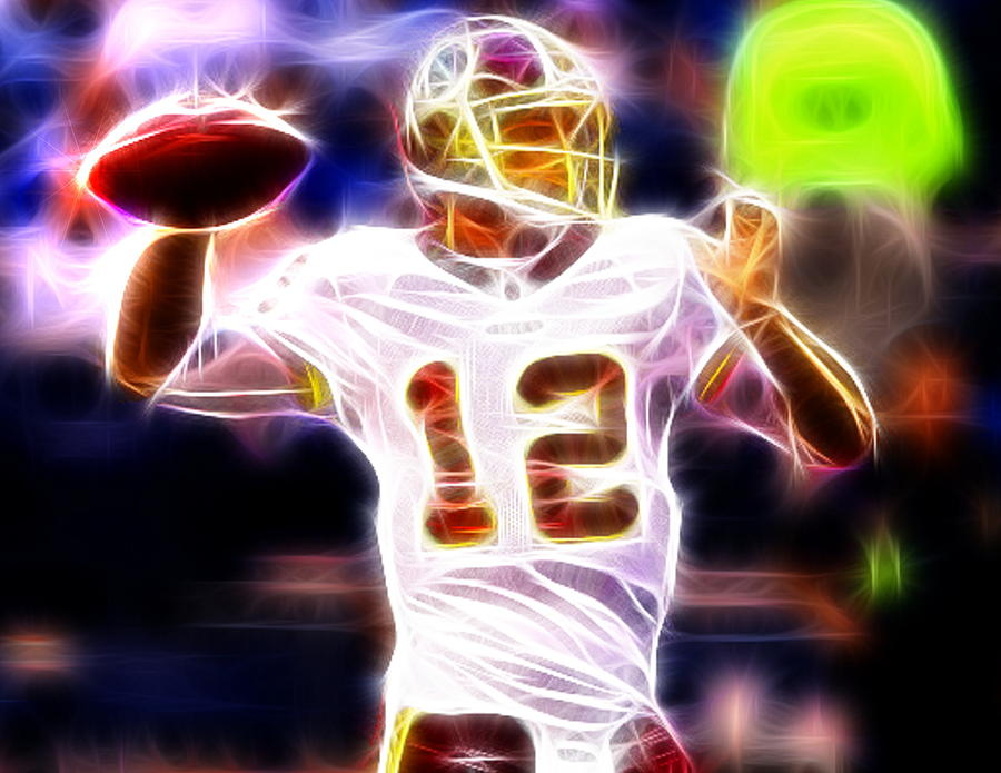 Kirk Cousins Washington Redskins is a piece of digital artwork by Paul ...
