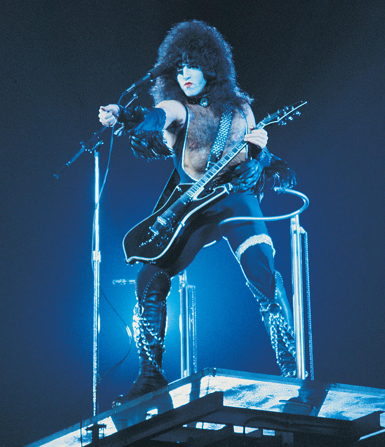 kiss paul stanley 1977 photograph by epic rights. Black Bedroom Furniture Sets. Home Design Ideas