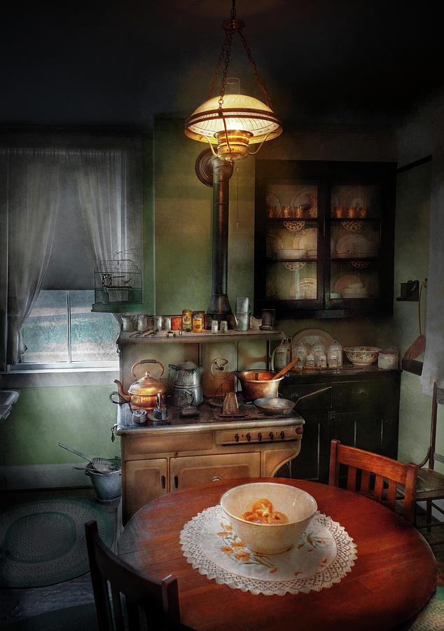 Kitchen - 1908 Kitchen Photograph