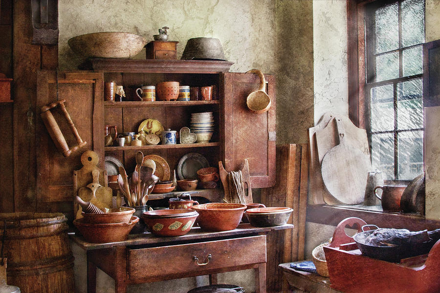 Savad Photograph - Kitchen - For The Master Chef  by Mike Savad