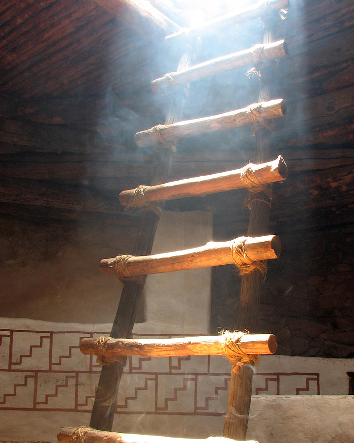 Kiva Ladder Photograph