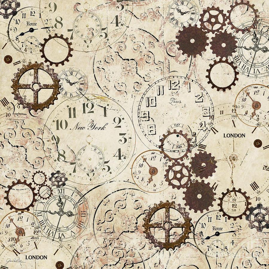 Vintage Clocks By Grace Pullen