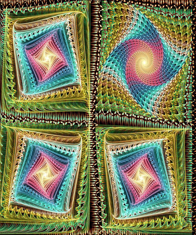 Computer Digital Art - Knitting by Anastasiya Malakhova