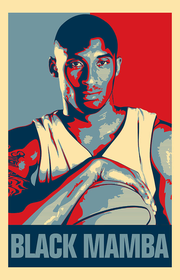 Kobe Bryant Digital Art