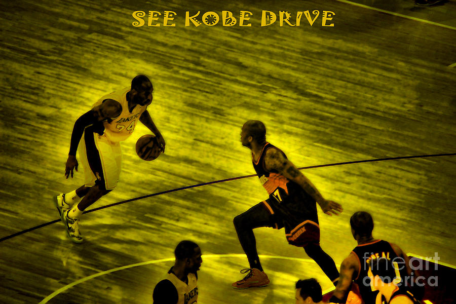 Kobe Lakers Photograph