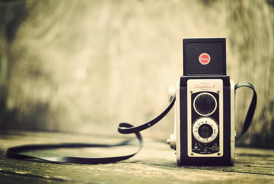 Kodak Duaflex II Camera Photograph