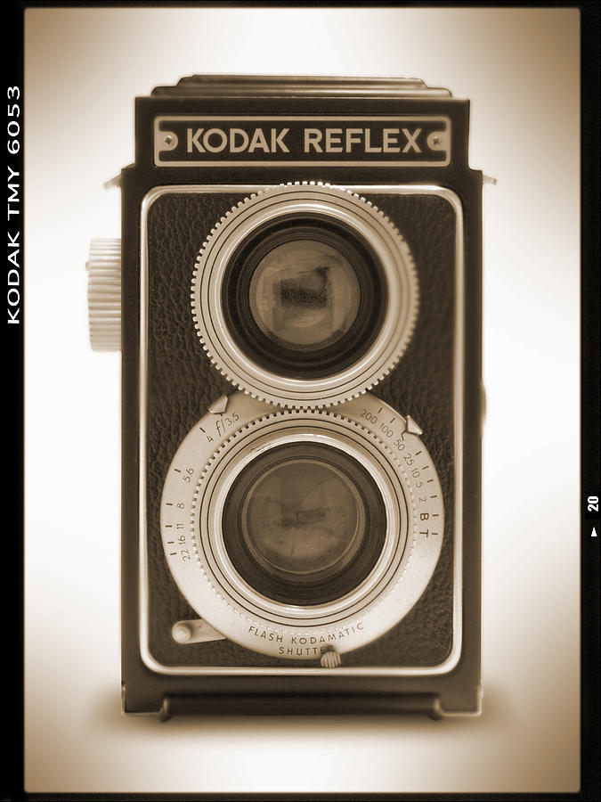 Kodak Reflex Camera Photograph