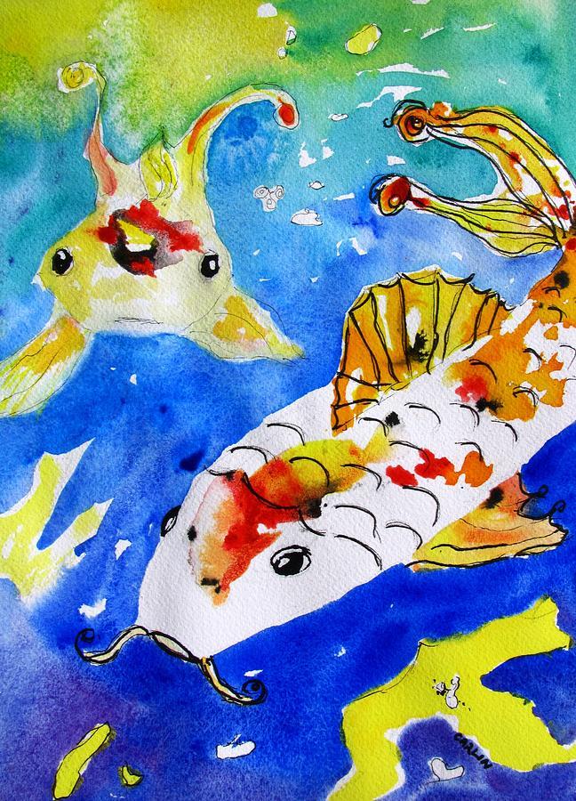 Koi Fish -abstract by ...
