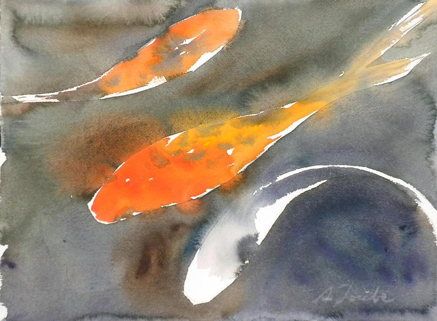 Koi fish no 1 painting by sumiyo toribe for American koi fish