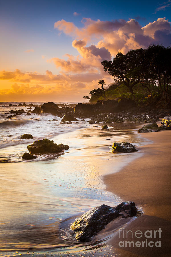 Koki Beach Sunrise Photograph  - Koki Beach Sunrise Fine Art Print
