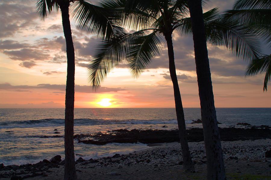 Kona Sunset Photograph