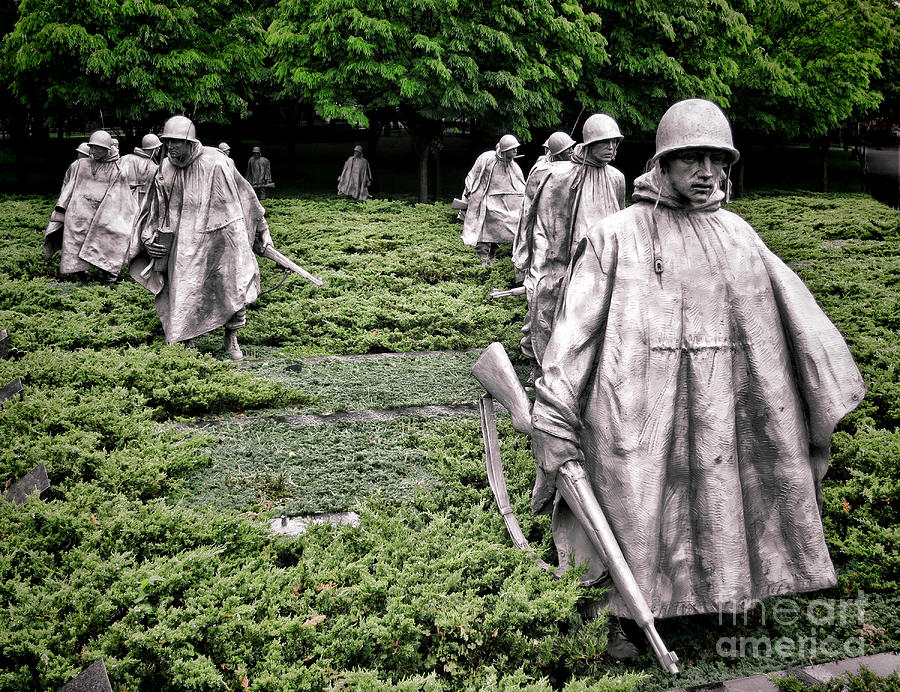 Korean War Veterans Memorial Photograph