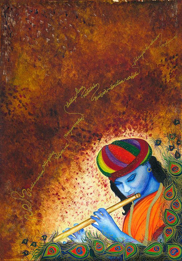 Krishna - Joy Embodied Painting
