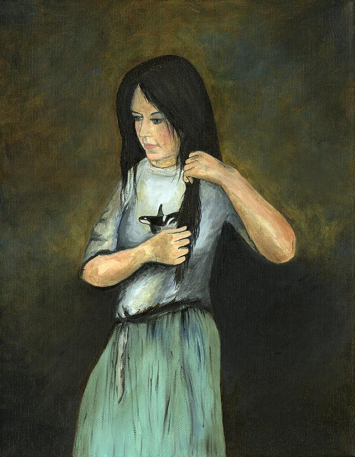 Kristina At 18 Painting