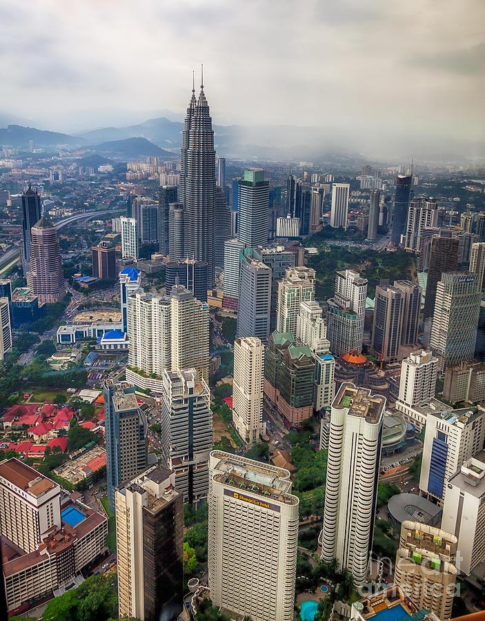 1994 Photograph - Kuala Lumpur City by Adrian Evans
