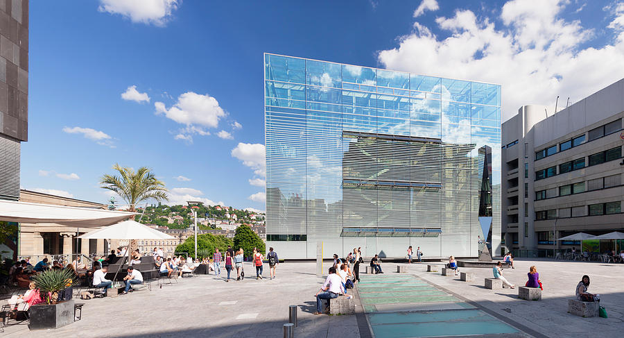 Kunstmuseum Stuttgart Museum Photograph By Panoramic Images