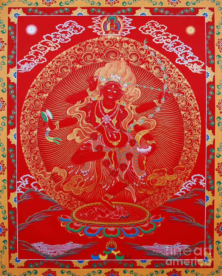 Kurukulle Devi Painting