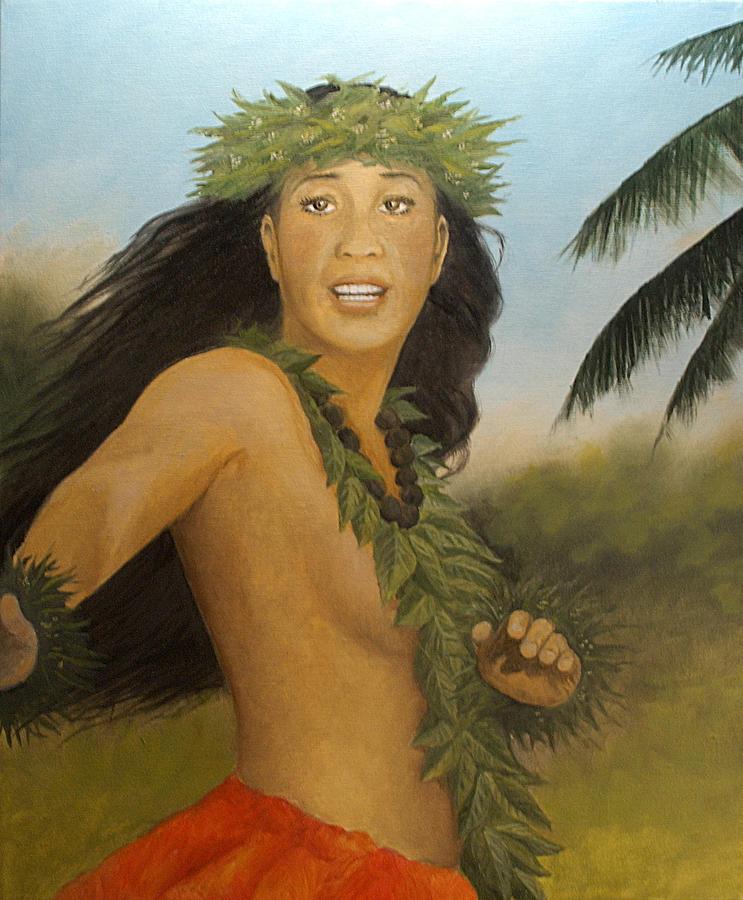 Kuu Lei Nani Painting