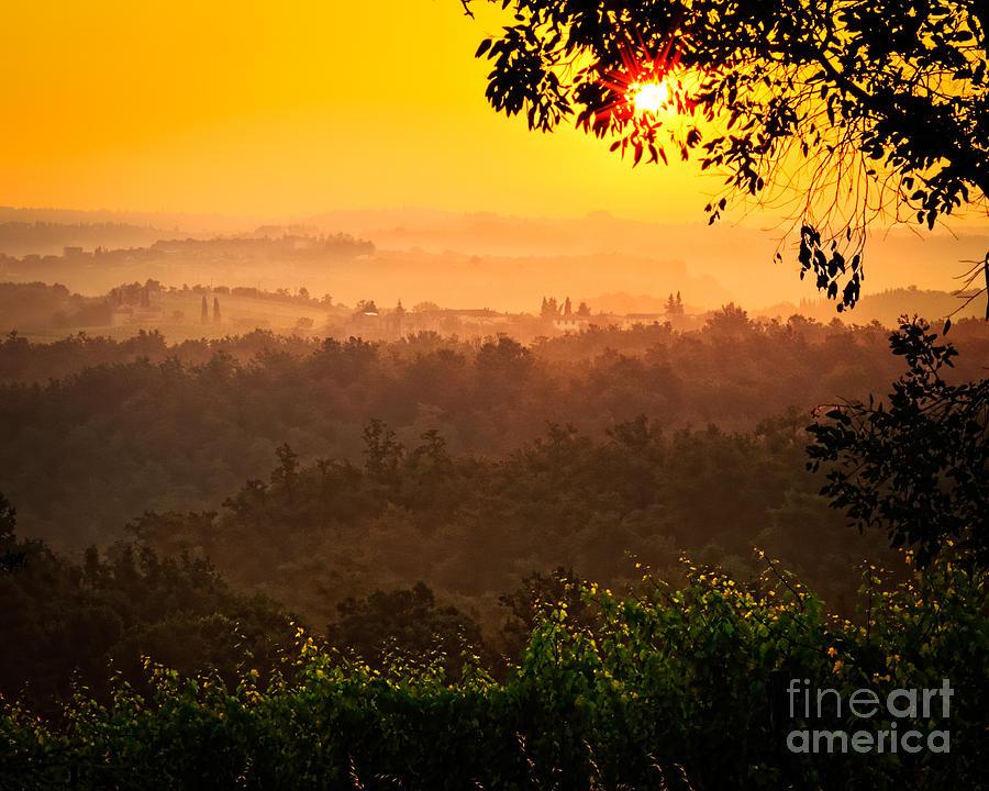 La Bella Toscana Photograph
