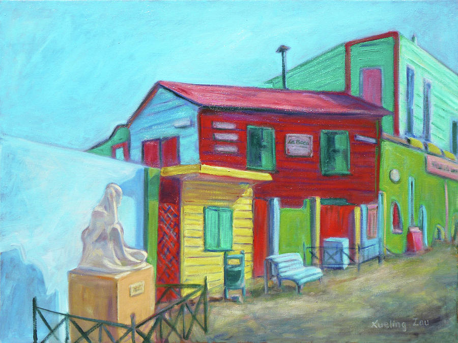 La Boca Morning I Painting  - La Boca Morning I Fine Art Print