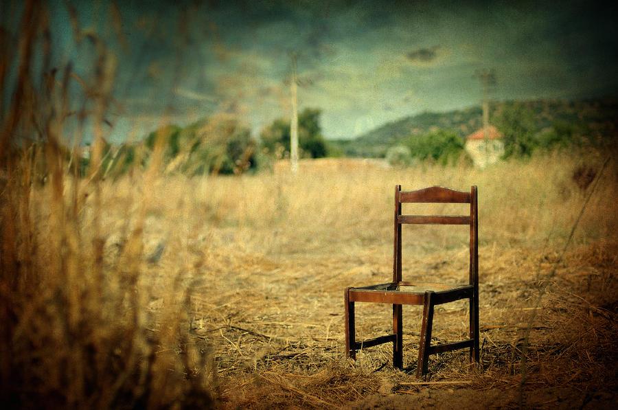 Surreal Photograph - La Chaise by Taylan Apukovska